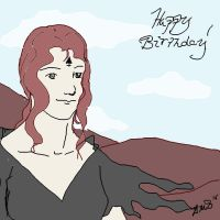 Amrie: Birthday Wishes by AmaranthBlacktree