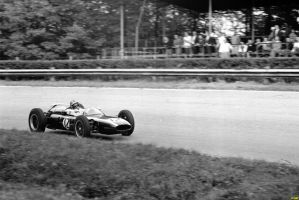 Bruce McLaren (Italy 1961) by F1-history