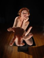 5168 Nude with Hand by Chris Maher by artonline