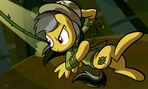 Daring Do by WillDrawForFood1