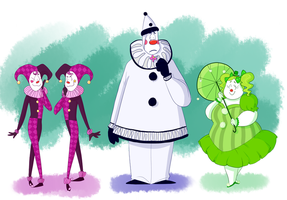More Clowns by The-Happy-Apple