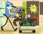 Day 8 - Shopping 'Morby' by BroGirl62