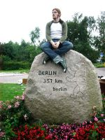 Me and the Stone of Berlin by Fleischparade