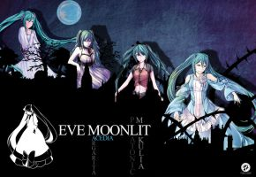 Eve Moonlit Wallpaper by MarioGagabriel