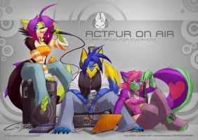 ACTfur on Air - The Crew by jesonite