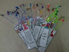 Mother's Day Bookmarks by RavingPink