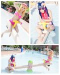 PSG - Waterpark Fun Collage by Kurai-Hisaki