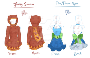 Etsy Journey Time of Aprons and Sweaters by TaiDaisuke