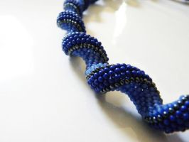 Royal Blue Necklace by sweetdream20