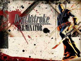 Deathstroke by Mask-of-Mafdet