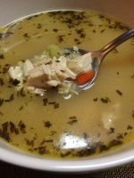 Turkey and Rice Soup by dragoon811