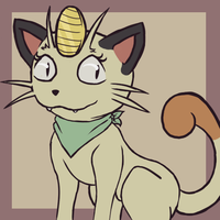 Piper the Meowth icon by J3rry1ce
