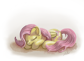 Sleepy Shy by MoreVespenegas