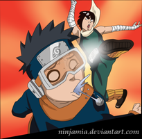 Naruto 599: Obito vs Maito Gai by NinjaMia