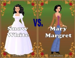 Snow White vs Mary Margret (Revised) by Sunshine-Girl524