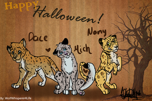 :G: Happy Halloween! by WolfWhisperer4Life