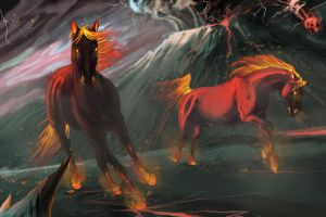 Horses of Ares by OliviaPaige010