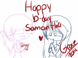 This is a gift for samandra by Jahrock