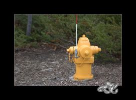 Yellow Fire Hydrant by minainerz