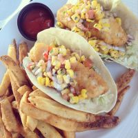Beer Battered Fish Tacos by piratesofbrooklyn