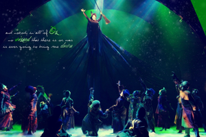 Defying Gravity Wallpaper by englishfreckle