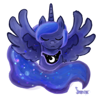 princess luna by SimonTheFox1