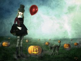 Happy smoky Halloween by Chatterly