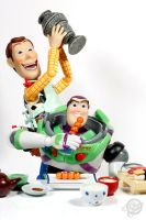 Woody and Buzz by theonecam