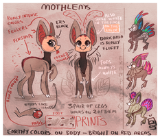Mothlem species sheet (closed) by griffsnuff