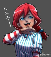 Savage Wendy by ryuuen