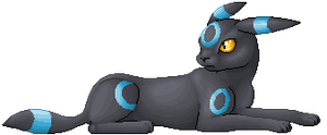 PixelArt - Shiny Umbreon by Suora91