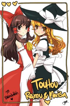 Touhou - AT by Jumpix
