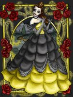 Goth Belle by SteamboatLyssie