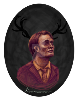 Hannibal Lecter by KaitlynRAWR