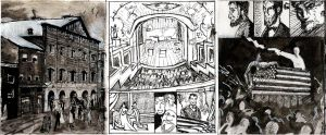 Lincoln Assasination pages1-3 by Wilkonrad
