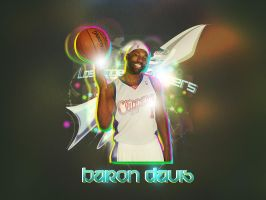 Baron Davis Wallpaper by Sheed89