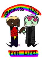 Brainless Bros by King-of-Losers