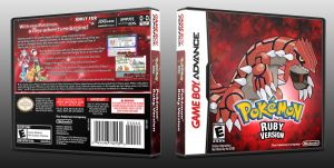 Pokemon Ruby Updated Cover by CalicoStonewolf