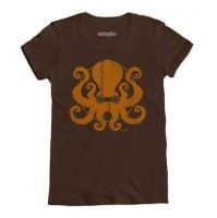 steampunktopus ladies shirt! by BrianKesinger