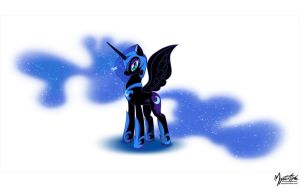 Nightmare Moon 01 Wallpaper by mysticalpha