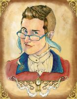 Steampunk Self Portrait by andy15333