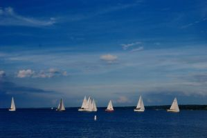 Sailing Race by Mickeygr