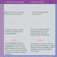 Lip tutorial by Cattileona-Chika