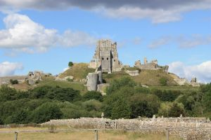 Corfe Castle by CAStock
