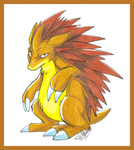 Sandslash by Lazares
