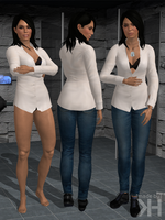 Ashley Williams Casual Outfit 2 (XPS) by Grummel83
