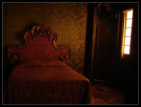 Lighted Bedroom by Taeo