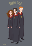 Golden trio by sofiko-chan