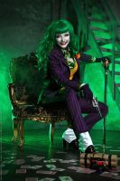 Female Joker cosplay 6 by HydraEvil