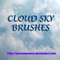 7 Cloud Sky Brushes Set by serunisavana